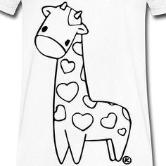 """""""Giraffe in Love"""" das neue T-Shirt von Ausgezeichnet!  Markiere einen Freund der auch Ninja Fan ist    Mit Liebe gezeichnet    Wenn auch du dieses #tshirt möchtest schau einfach im Ausgezeichnet Store vorbei: http://ift.tt/2r0IG0C"""