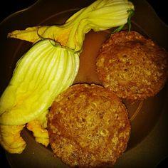 Muffin di Zucca! Fiori di Zucca!