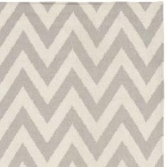 @Overstock.com - Moroccan inspired design and dense hand-woven wool pile highlight this handmade dhurrie rug. This floor rug has a grey background and displays stunning panel colors of ivory.http://www.overstock.com/Home-Garden/Chevron-Dhurrie-Grey-Ivory-Wool-Rug-8-x-10/6830702/product.html?CID=214117 $379.99