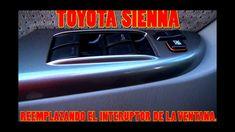 Como cambiar el interuptor de la Ventana del chofer de un Toyota Sienna ...