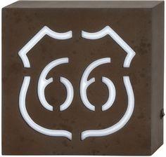 "UMA Inc Wd Led Wall 66 Sign 10""W, 10""H"