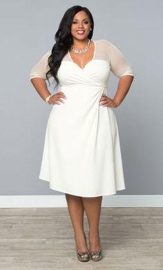 532405c05f0 Products Archive - Vintage   Curvy. White Plus Size DressesPlus Size Wedding  ...