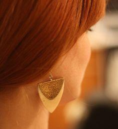 Boheme Indian Bone Earrings
