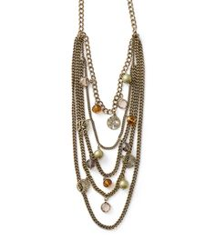 Bohemia Necklace  Great Fall Necklace   $118.00