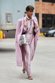 See the looks that caught our attention, and stay tuned for more of NYFW's top street style moments. #FashionTrendsStyle