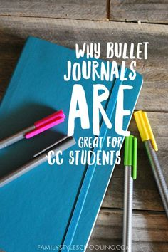 Why Bullet Journals Are Great for CC Students - Family Style Schooling Free Homeschool Curriculum, Homeschooling, Blogging For Beginners, Bullet Journals, Website, Students, Encouragement, Challenge, Free Training