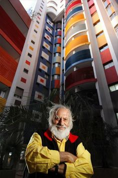 Yaacov Agam (Hebrew: יעקב אגם) (b. is an Israeli sculptor and experimental artist best known for his contributions to optical and kinetic art. Yaacov Agam, Art Public, Concrete Art, Kinetic Art, Jewish Art, Famous Art, Art Database, Art Programs, Pin Art