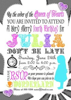 """Photo 35 of 35: Alice in Wonderland Mad Tea Party / Birthday """"Julia's 4th Unbirthday"""" 