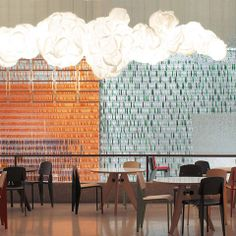 MAMACLOUD | BELUX. So cool, this sculpture/light fixture has got to have a silver lining!