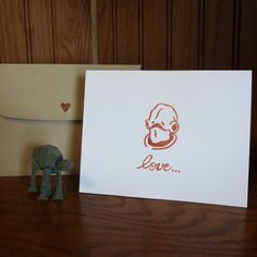 It's a TRAP Star Wars Valentines Day Card