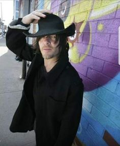 Norman Reedus photographed by Mick Rock for Black Book Magazine