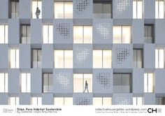 Linear Block NS – Page 2 – Collective Housing Atlas Architecture Details, Interior Architecture, Skyscraper, Multi Story Building, Construction, Atlas, House, Collection, Design