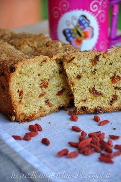 L'ingrediente perduto: Plum cake con farina d'avena e bacche di Goji...e un piccolo segreto!!!!