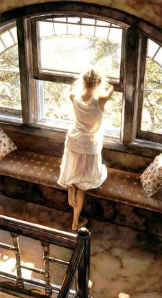 Steve Hanks... another amazing aquarelle.