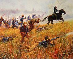 mort kunstler civil war paintings | www.brooklyn-art.com