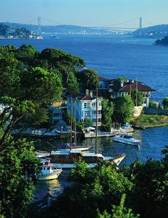 The Bosphorus Strait Istanbul..truly one of the most beautiful places I have seen... i want to re. #Relax more with healing sounds: