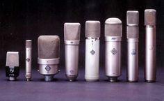 Neumann microphones...