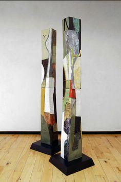 Gretchen Wachs | 'Trapazoid Columns'