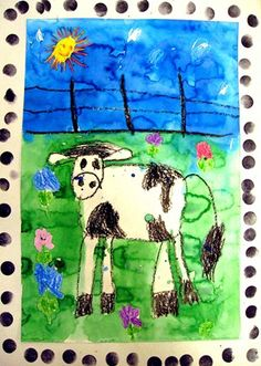 """From exhibit """"Kindercows...outstanding in their fields!"""" by Avalon47"""