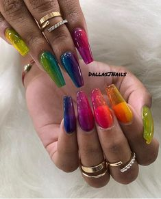 30 Trendy Jelly Nails New Trend Are Perfect for This Summer 2019 jelly nails newest nail trend 2019 acrylic nail art design 2019 clear jelly nails Best Acrylic Nails, Acrylic Nail Art, Nail Swag, How To Do Ombre, How To Ombre Nails, J Nails, New Nail Trends, Latest Trends, Jelly Nails
