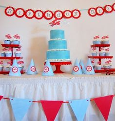 Noah's 1st birthday party theme
