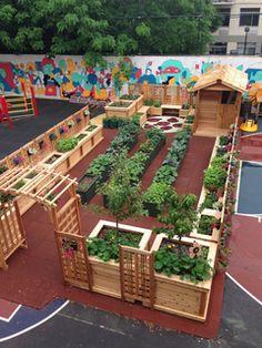Ideas For School Gardens Design We Have A Beautiful 50' X 20' Raisedbed Garden Design Drawn Up.