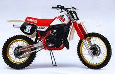 1985 YAMAHA YZ490