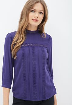 Crocheted Peasant Blouse
