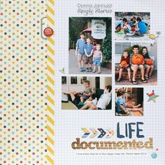 Life Documented {Simple Stories} - Scrapbook.com