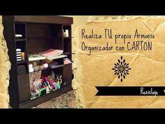 Proyecto Caja Organizadora de materiales Scrapbook - YouTube