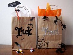 Diy Halloween Trick Or Treat Bags.36 Best Halloween Trick Or Treat Bags Images In 2018 Trick