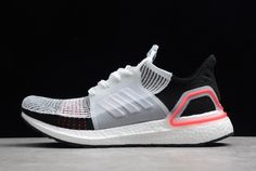 5acab54e8 adidas Ultra Boost 2019 White Active Red B37703