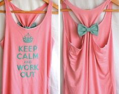 how to make workout tank - Google Search