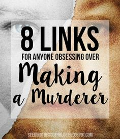 8 Links for Anyone Obsessing Over Making A Murderer Steven Avery, Making A Murderer, Lose My Mind, Moving Pictures, Losing Me, Documentaries, College Life, Sayings, My Love