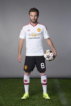 New Manchester United away kit: Juan Mata.