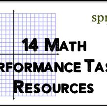 Math Performance Task For Long Division  Math    Long
