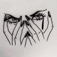 Pildiotsingu tumblr tattoo sad eyes tulemus