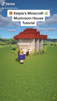 Minecraft Mansion, Minecraft Cottage, Easy Minecraft Houses, Minecraft House Tutorials, Minecraft Modern, Skins Minecraft, Minecraft Room, Minecraft Plans, Minecraft Decorations
