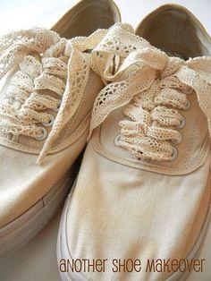 cute tennis shoe DIY