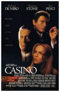 Casino is a 1995 American epic crime drama film directed by Martin Scorsese