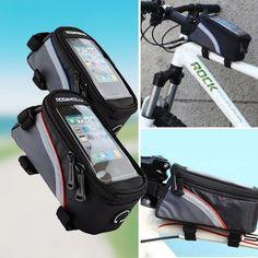 Fahrradrahmentasche mit Touchscreen-Funktion