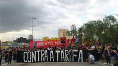 5º Grande Ato Contra a Tarifa (27/01/2015) -- E o ato segue na Faria Lima rumo à Marginal!  (por Passe Livre SP)