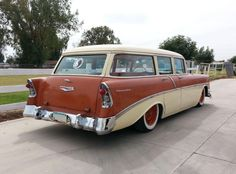 1956 chevrolet 210 station wagon | by liongrrl