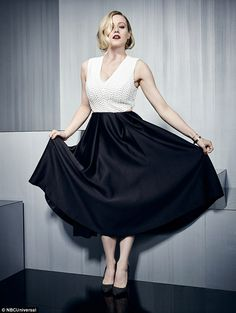 Elegant attire: Syfy's Magicians star Olivia Taylor Dudley looked incredible in a flowing ...