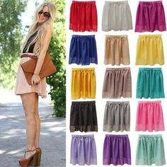 Summer Chiffon Women Skirt Tulle Saia Faldas Girls Above Knee Short Nude Mini Casual Skirts NO BELT