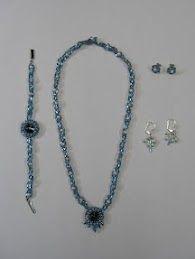 Beaded rivoli pendant - C.Nicholas2011