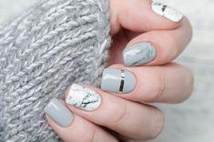 Nails Today, Gray Nails, Nail Arts, Nail Art Designs, Makeup Looks, Make Up, Sash, Google Search, Ideas