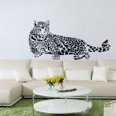 Puma Wall Sticker, Leopard Sticker