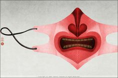 The mask of Heart