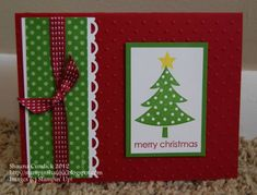 Polka Dots for Christmas by stampinshauna - Cards and Paper Crafts at Splitcoaststampers
